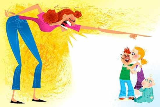 Différentes astuces pour ne plus crier sur ses enfants