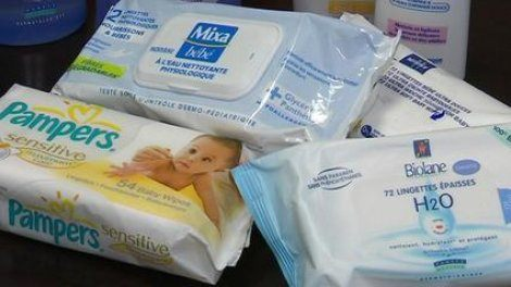Les lingettes pour bébé sont de véritables poisons !
