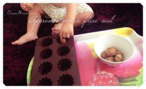 Activité Montessori : un trou = un objet