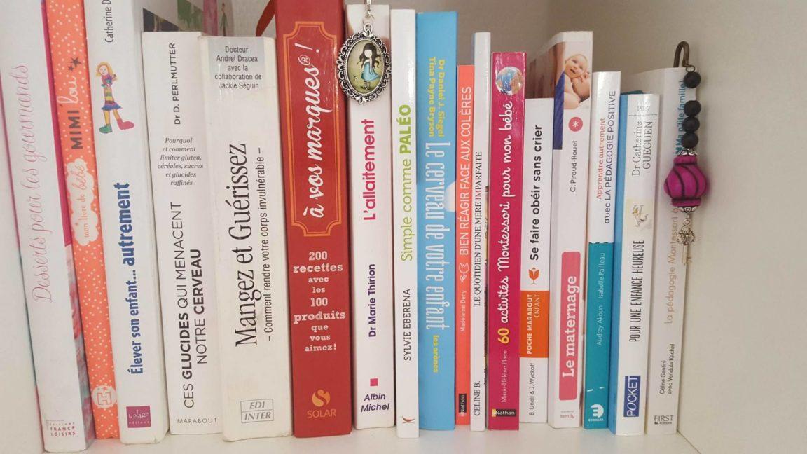 Astuce pour avoir des livres sur le maternage à prix réduits!