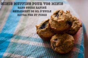 DME, Mini muffin pour faire le plein de FER!!!
