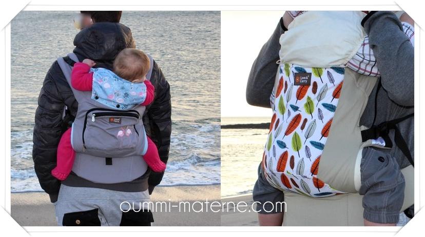 AIR et DLIGHT : Comparatif des deux porte-bébés physiologiques Love & Carry