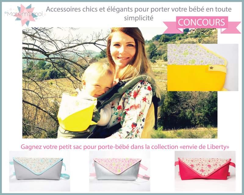 Concours : gagne un magnifique sac Matern'Emoi spécial porte-bébé [Terminé]