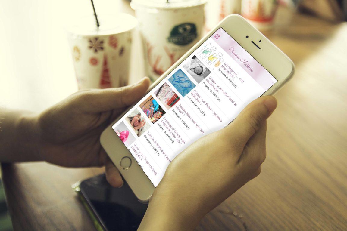 Oummi Materne lance sa campagne de crowdfunding pour financer son application mobile !