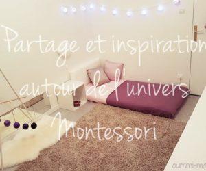 Partage et inspiration autour de l'univers Montessori