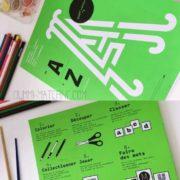 [ Test & avis ] le Super cahier n°1 : De A à Z jouer avec l'alphabet
