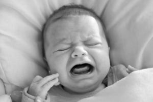 Le texte d'un bébé qu'on a laissé pleurer ..