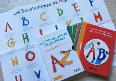 [Livre] Les bonshommes de l'alphabet, un livre à découvrir !