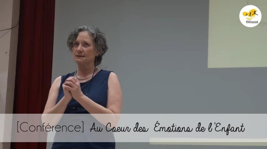 [Conférence] Au Coeur des Émotions de l'Enfant – Isabelle Filliozat