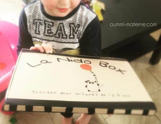 [Test et découverte] La Nido Box : des activités ludiques et bilingues pour les 1 à 3 ans !