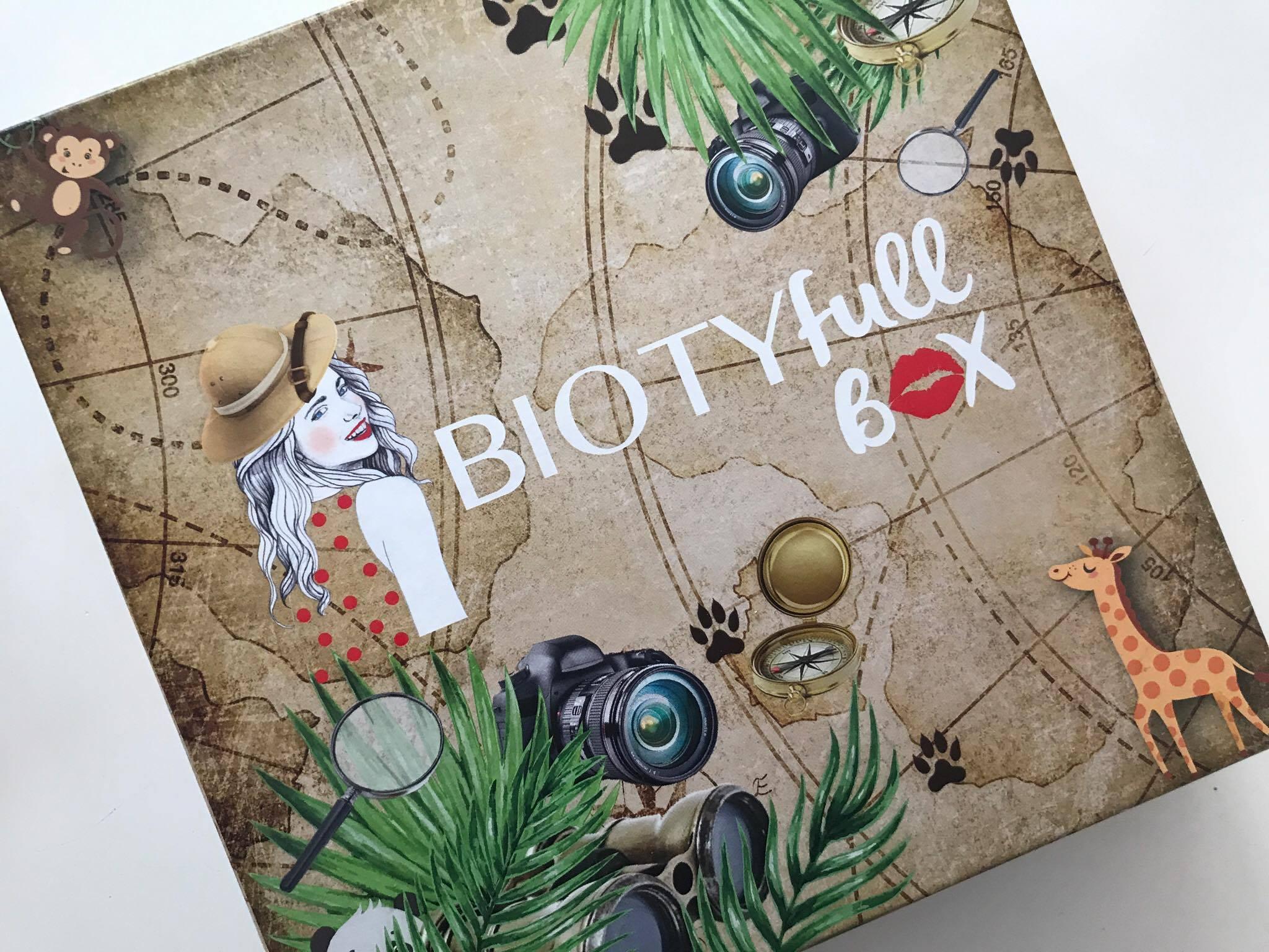 [chronique] La biotyfull Box d'août : L'aventurière !