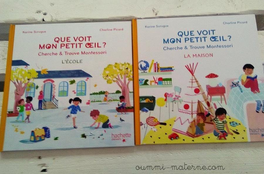 [Livres] Que voit mon petit oeil ? Cherche & trouve Montessori