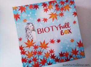 [Chronique] La Biotyfull Box d'octobre : l'automnale
