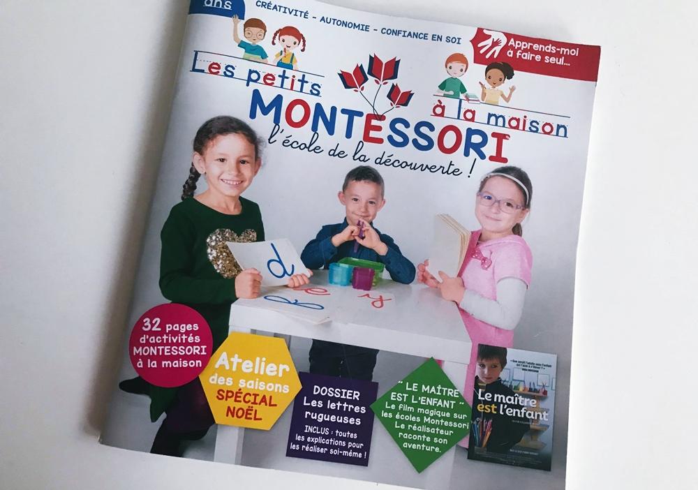 [Test & découverte] Le magazine Les petits Montessori à la maison