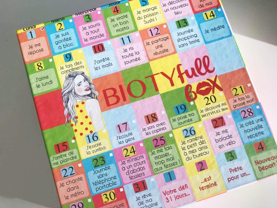 [Chronique] La Biotyfull Box de janvier : Nouveau départ
