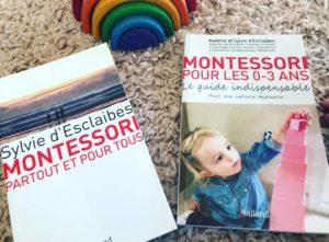 Montessori : Deux livres de Sylvie D'esclaibes à découvrir