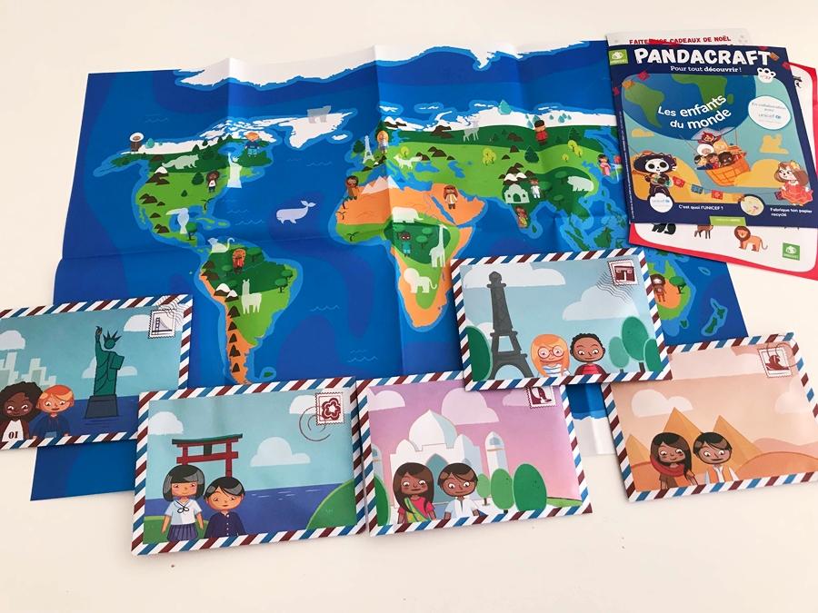 Activité Pandacraft : Les enfants du monde – avec l'UNICEF France