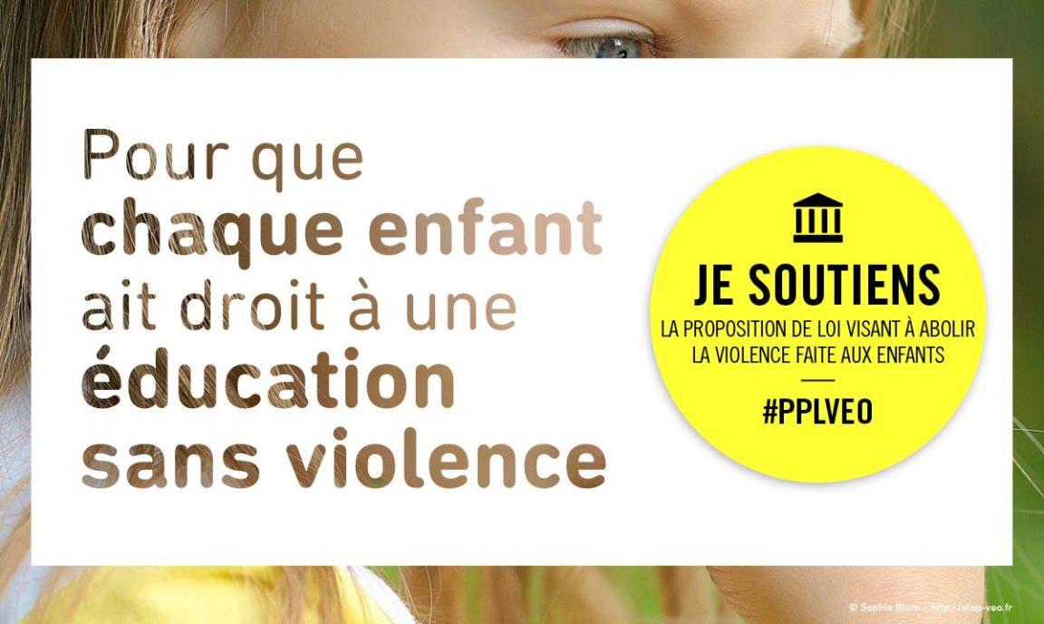 Pourquoi je soutiens la proposition de loi visant à abolir la violence faite aux enfants?