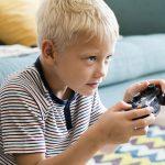 Sante des enfants avec les jeux vidéos