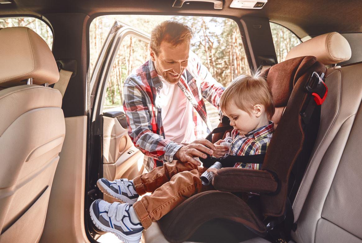 Enfant En Voiture Siege Auto