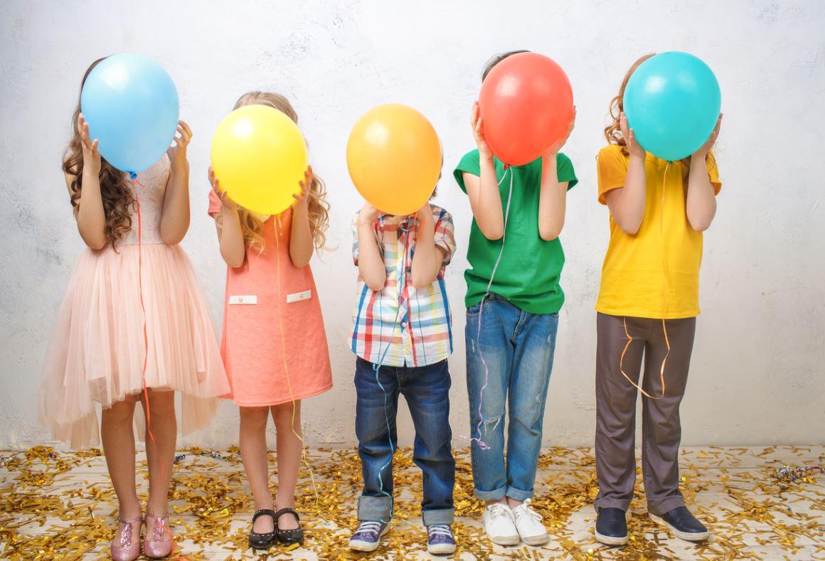 Anniversaire Enfants Avec Ballons